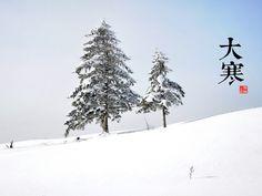 大寒« Da Han» Le 20 janvier- le 21 janvier Great cold /le grand froid