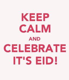 Eid Mubarak to anyone who celebrates it! :)