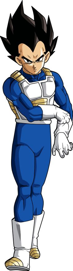 Vegeta (Alt Palette) by BrusselTheSaiyan
