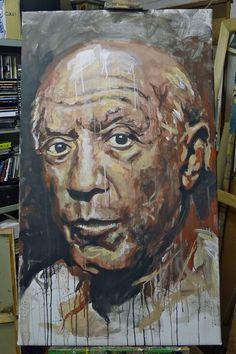 Abbiamo un Picasso in casa.....#arte #quadri #art #paintings #francori #modena #musica #music  Visita il mio sito: www.francori.it
