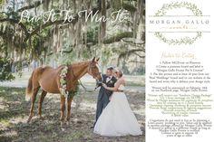 Pin it to Win It Morgan Gallo Events- Event and Wedding Planning Design Firm Serving Savannah, GA Hilton Head, SC Charleston, SC www.morgangalloevents.com