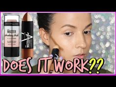 New Maybelline Master Contour Stick + Master Strobing Stick | Review & Demo | AdriLunaMakeup - YouTube