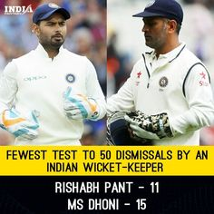 #rishabhpant #msdhoni #India #wicketkeeper #batsman #dismissals #catches #stumpings #team #indiancricket #test #matches #trending #trend Fantasy Star, Cricket News, Facts, Indian, Baseball Cards