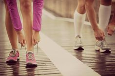 running together.