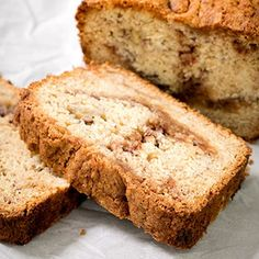 Cinnamon Swirl Gluten Free Banana Bread | Gluten Free on a Shoestring