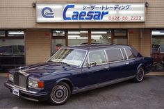 Rolls-Royce Silver Spirit Emperor State Limousine. VIN 	 SCAZS02A8KCX25393 	   	 Colour exterior 	 Royal blue Model year 	 1989 	   	 Colour interior 	 Blue Velvet, piped dark blue leather, dark blue carpets in the rear; Blue leather in the front First owner 	 Mr Raffy Manoukian 	   	 Registrations 	 -