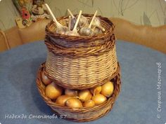 Поделка изделие Плетение Новогодние каникулы Трубочки бумажные фото 1