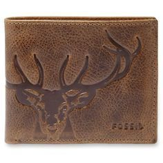 Fossil Brown Jack Bifold With Flip Id Wallet ($50) ❤ liked on Polyvore featuring men's fashion, men's bags, men's wallets, brown, fossil mens wallet, mens bifold wallets, mens leather wallets, mens leather bifold wallet and bi fold mens wallet