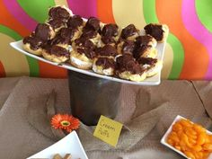 Cream puffs, birthday party food, catering