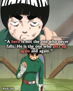 "BEST NARUTO ""You can mock me all you want. But if you insult my best friend, I will obliterate you. Naruto English, Anime English, Naruto Uzumaki, Anime Naruto, Lee Vs Gaara, Rock Lee Naruto, Pain Naruto, Naruto Quotes, Pain Quotes"