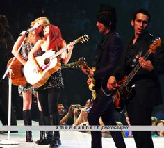 Taylor Swift, Caitlin Evanson, Grant Mickelson, and Amos Heller; Fearless Tour, Cincinnati OH