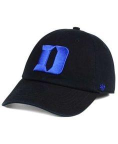 '47 Brand Duke Blue Devils Franchise Cap - Black XL