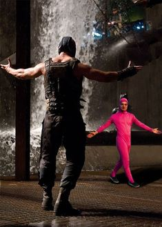 See more 'Bane vs. Pink Guy' images on Know Your Meme! Stupid Memes, Dankest Memes, Funny Images, Funny Photos, Meme Template, Templates, Story Template, Haha, Blank Memes
