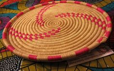 Your place to buy and sell all things handmade Wall Basket, Baskets On Wall, Basket Weaving, Hand Weaving, Valentines Day Gifts For Her, Hot Pads, Serving Platters, Hostess Gifts, Thoughtful Gifts