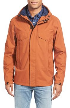 1bcc89f09ed Timberland 'Mt. Oscar' Waterproof Hooded Shell Jacket | Nordstrom