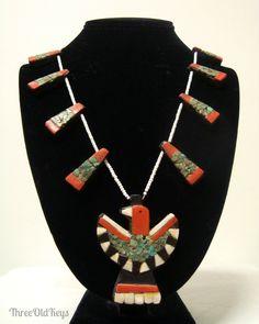 Santo domingo jewelry on pinterest santo domingo shell for Thunderbird jewelry albuquerque new mexico