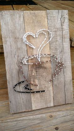 Coffee love string art by MandasPandemonium on Etsy