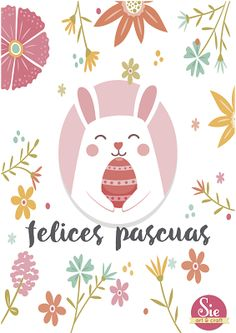 Sie - Art & Craft: Felices Pascuas ♥ Chocolate Club, Easter Wallpaper, Diy And Crafts, Arts And Crafts, Lilac Wedding, Baby Party, Printable Paper, Baby Patterns, Happy Easter