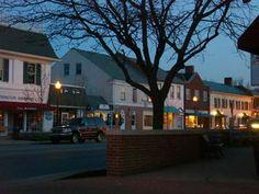 Downtown Worthington, Ohio