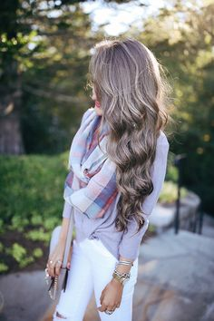 Blog post on how to take care of and curl your hair
