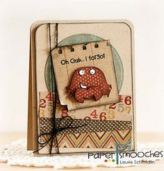 Paper Smooches: feeling crabby?