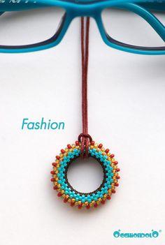 """spec-holder necklace Occhiondolo """"Fashion"""""""