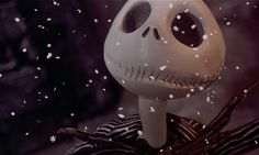 """Still from """"The Nightmare Before Christmas"""".  Love this."""