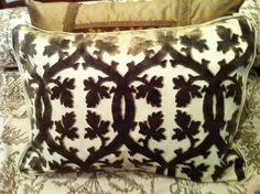 Pair of pillows....Scalamandre!