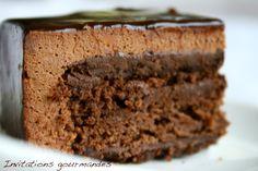 Gateau au chocolat façon Grand Cru Chocolat de Conticini (essai 1) | Invitations gourmandes
