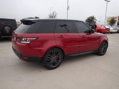 2017 Land Rover Range Rover Sport Red, Fort Worth, TX