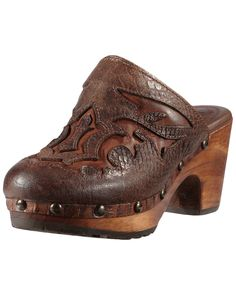 "Spotted this Ariat ""Buckeye"" Leather Clog on Rue La La. Shop (quickly!)."