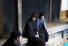 Takeru Sato as Kenshin Himura and Ryunosuke Kamiki as Soujiro Seta