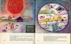 Frank Baum, illustrated by Arnost Karasek, 1962 WHY WE RECOMMEND IT : a magical, inspirational story. A perfect tex. Wizard Of Oz, Creative Design, Illustrators, Vintage World Maps, Wonderland, Culture, Watercolor, Drawings, Artist
