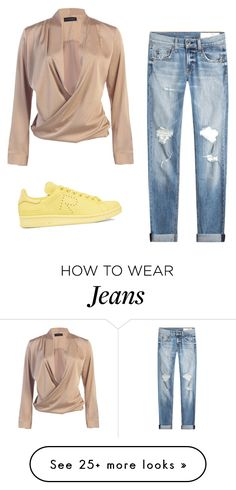 """""""jeans"""" by hala14i92 on Polyvore featuring rag & bone and adidas Originals"""
