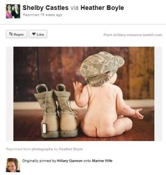 Baby Photography Ideas Baby Military Boots Dogtag