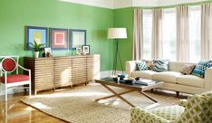 Wooden Coffee Table with Armchairs and Rug also Green Wall Paint Ideas  #coffeetable #furniture #furnituretrends #furniture_design #livingroom #livingroomideas #livingroomdesign #livingroomdecor #decor #homedecor #decorideas #decoration #decorating #interior #interiorideas