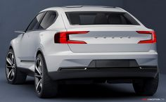 New Volvo Concept - don't be afraid of Minecraft style - blocky is beautiful if done correctly as it has been in this example