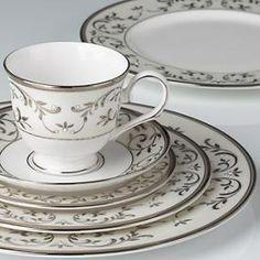 Opal Innocence Silver Dinnerware by Lenox - so beautiful.