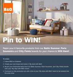 My style witness B&Q Paris Souvenirs, My Themes, Outdoor Furniture, Outdoor Decor, Luxury Travel, Sun Lounger, Parisian, Competition, Colours