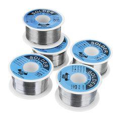 DANIU 100 g 63/37 Tin Lead Rosin Core 0.5-2mm 2% Flux Reel Welding Line Filo per saldatura