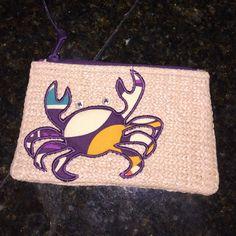Vera Bradley crab coin purse, never used! Vera Bradley crab coin purse, never used! Vera Bradley Bags