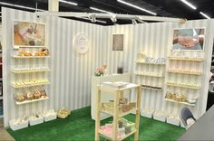 Soap Soap Soap! LATIKA soap craft show booth  - love this for craft shows!