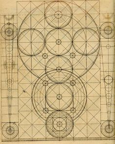 "an illustration to ""Curious Mathematical Forms"" by Robert Boyle, probably 1670's"