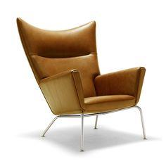 Hans J Wegner Wing Chair
