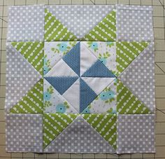 Pinwheel Star Quilt Block Tutorial @ The Crafty Quilter - GREAT TUTORIAL, LOTS OF PICS. MAKE AS WALL SQUARE OR A WHOLE QUILT. A MUST DO FOR ME. - ADD TO QUILT BUCKET LIST