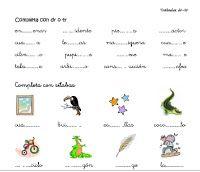 Bla ble bli blog de los sinfones: Fichas para descargar Spanish, Tangram, Therapy, School, Blog, Dyslexia, Autism, Speech Therapy, Speech Language Therapy