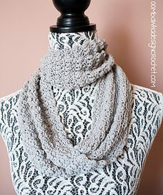 Soft as a Cloud One Skein Cowl by Oombawka Design  Published in Oombawka Design by Rhondda Craft Crochet Category Neck / Torso → Cowl Published January 2015 Suggested yarn Bernat Cotton-ish Yarn weight DK / 8 ply (11 wpi) ? Hook size 5.0 mm (H) Yardage 280 - 282 yards (256 - 258 m) Sizes available One Size but easily customizable