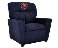 Use this Exclusive coupon code: PINFIVE to receive an additional 5% off the Chicago Bears NFL Kids Tween Microfiber Recliner at sportsfansplus.com
