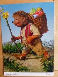 Postkarte AK Mecki * Ostern * Nr.363 Frohe Ostern | eBay