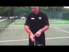 Cooper #Fitness Center Tennis Pro Steve Franklin demonstrates an easy way to improve your forehand.